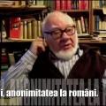 Autofilmare 25 : Anonimi, anonimitatea la români