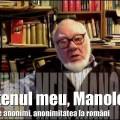 Autofilmare 26 : Prietenul meu, Manolescu